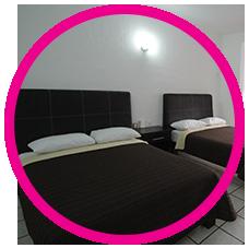 habitaciones en hotel splash inn leon